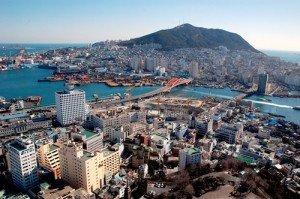 Một góc thành phố Busan