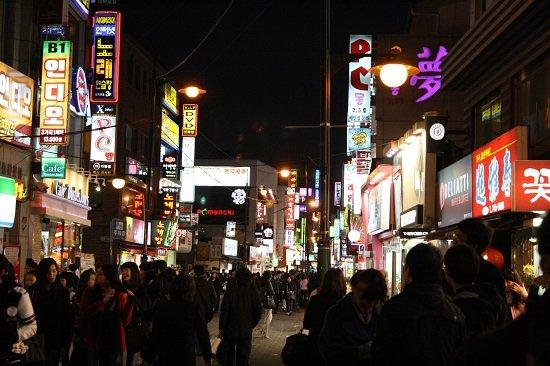 Khu Apgujeong ở Seoul, Hàn Quốc