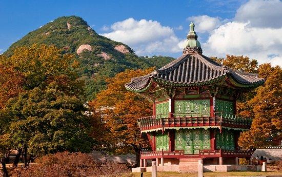 Cảnh Phúc Cung ở Seoul, Hàn Quốc