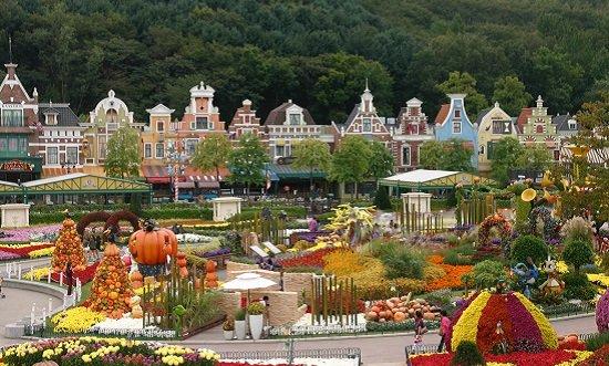Công viên giải trí Everland nổi tiếng ở Hàn Quốc