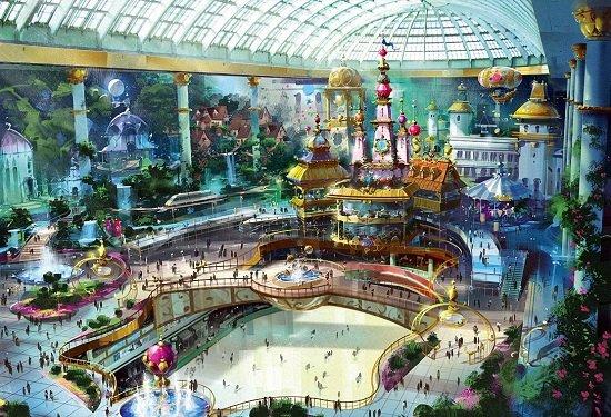 Công viên giải trí Lotte World nổi tiếng ở Hàn Quốc
