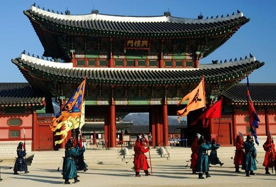 Cung điện Gyeongbokgung ở Seoul