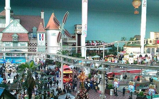 Công viên Lotte World-điểm đến thu hút củaTour Hàn Quốc 5 ngày 4 đêm giá rẻ Seoul – đảo Jeju – Lotte World
