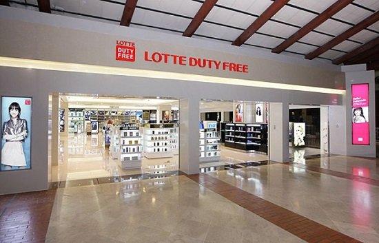 Mua hàng miễn thuế tại trung tâm Lotte Duty Free ở Hàn Quốc