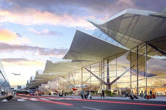 Sân bay Quốc tế Incheon ở Hàn Quốc