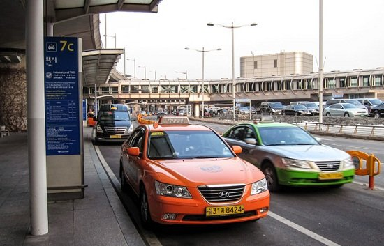 Taxi Airport ở sân bay Incheon