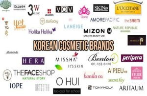 Các thương hiệu mỹ phẩm ở Hàn Quốc